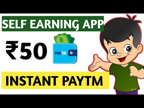 Paytm self earning