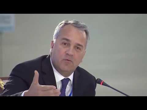 "Makis Voridis speaks at ""Religions against Terrorism"" conference, Astana"