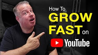 How to GROW Your YouTube Channel FAST - Step One