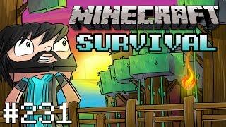 Minecraft : Survival - DRAGON HEAD! - #231
