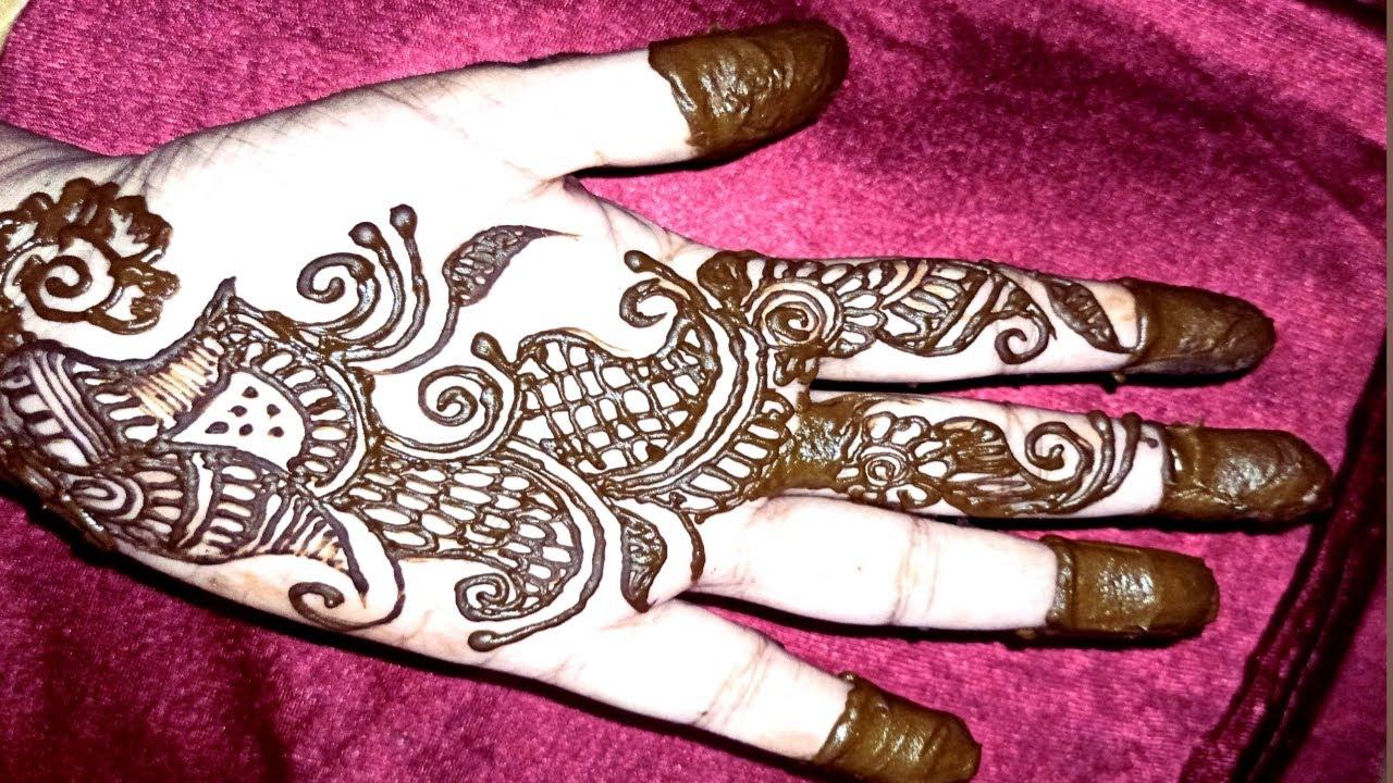 वेल मेहंदी डिजाइन   beautiful mehndi design    by girls beauty host   