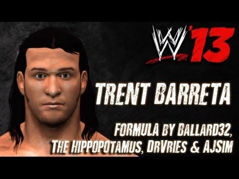WWE '13 Trent Barreta CAW Formula By Ballard32, The Hippopotamus, DrVries & AJSim