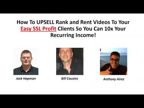 Rank and Rent videos for recurring Mega Opportunity
