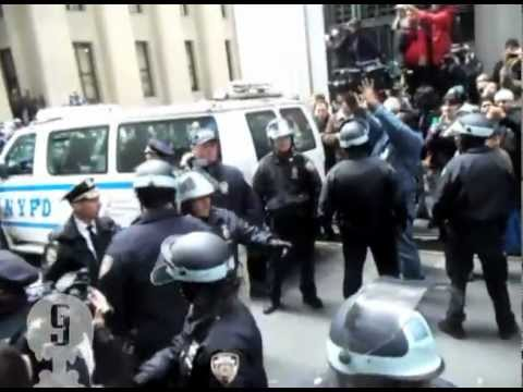 THE BEST FOOTAGE OF NYPD arresting retired Philly Police Captain Raymond Lewis