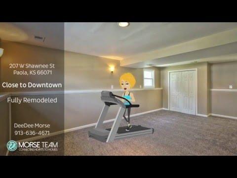 Home for Sale - 207 W Shawnee St  Paola KS 66071