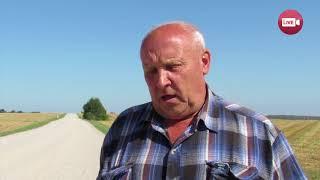 В Драпово вырастили рекордный урожай, но комбайнерам негде помыться...