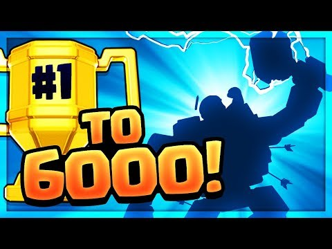 QUEST to 6000! Clash of Clans Builder Hall Leaderboard - Episode #1!