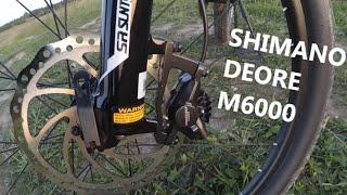 Обзор тормозов Shimano Deore m6000