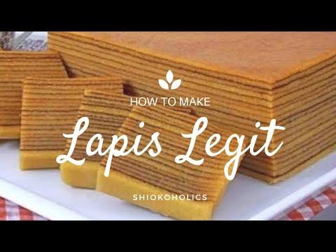 Chinese New Year Recipes Lapis Legit Youtube