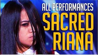 The Sacred Riana: ALL Performances on America's Got Talent and BGT Champions