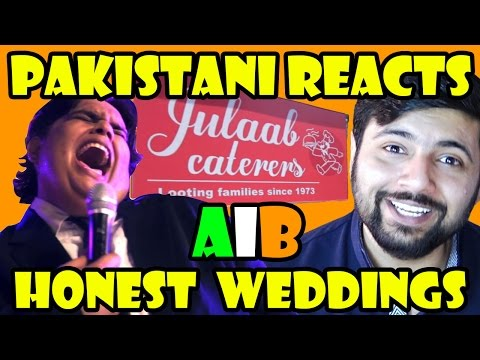 Pakistani Reacts to Honest Weddings