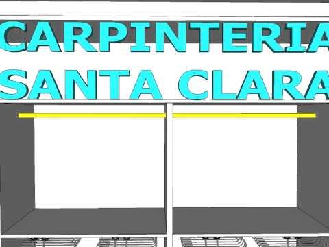 Interior armario 4 modulos carpinteria santa clara youtube - Carpinteria santa clara ...