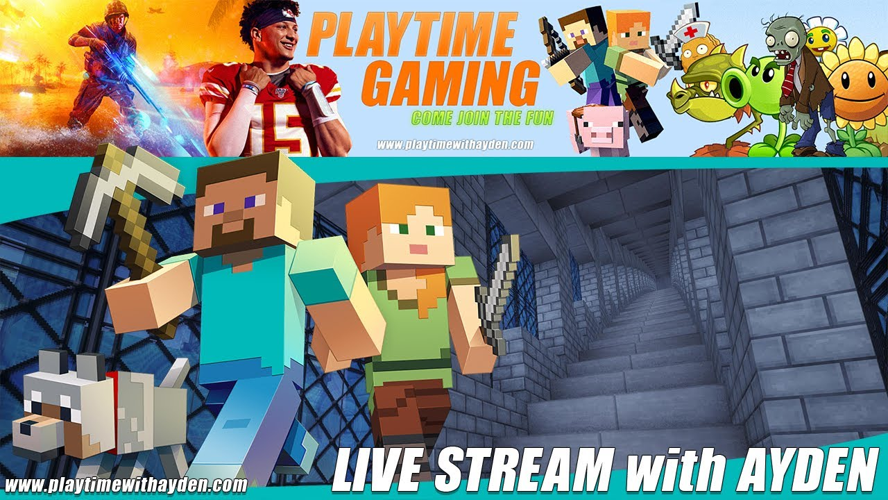 Live Gaming with Ayden.