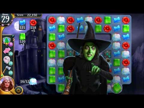 The Wizard Of Oz: Magic Match || Lvl 721-725