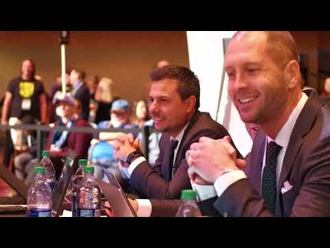MIC'D UP | Go behind the scenes with Gregg Berhalter at the MLS SuperDraft 2018