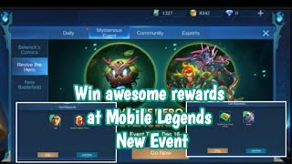 Mobile Legends New Event | Obtain Epic Skin by collecting Nurture points