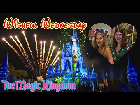 🔴LIVE. Wishful Wednesday. The Magic Kingdom. Peter Pan. Pirates. Fireworks.