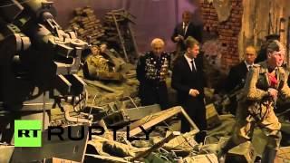 بوتين يزور بانوراما لمعركة برلين بالأبعاد الثلاثية