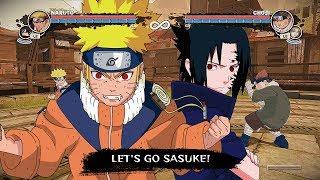Naruto The Broken Bond - Naruto & Sasuke Tournament