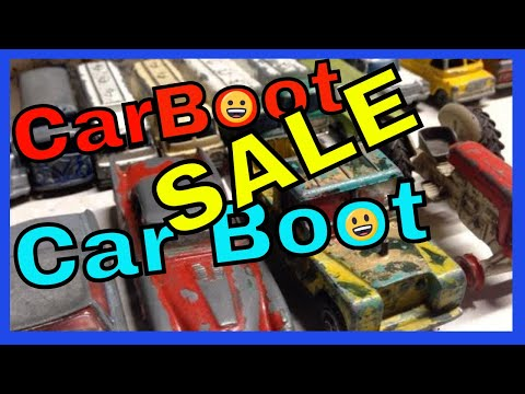 """Metal Detecting (NO) Car Boot Sale """"YES"""" Lets Go Treasure Hunting."""