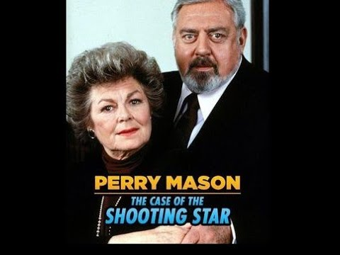 """Download PERRY MASON TV MOVIE """"The Case of the Shooting Star"""" - Raymond Burr - Barbara Hale - 1986"""