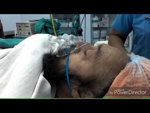 Oxygen therapy  with MC Venturi mask