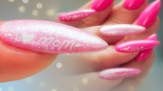 mother s day nail art pro tips gel polish and calligraphy pen