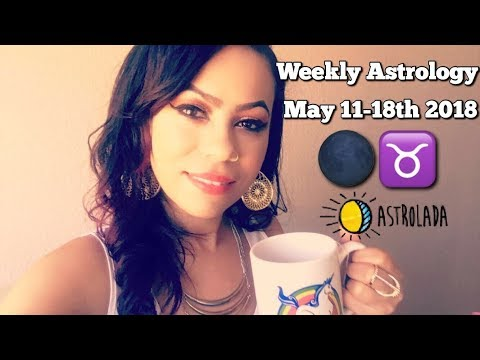 Weekly Horoscope for May 11th - 18th 2018 & Celebrity Coffee Talk w/April! |