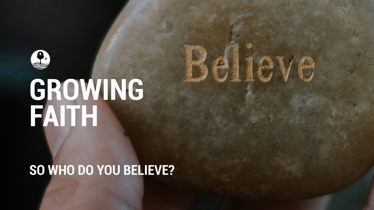 So who do you believe?