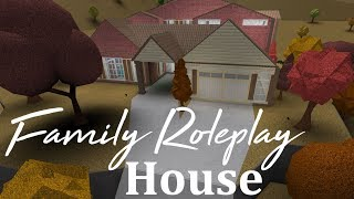 Roblox Bloxburg | Family Roleplay Home Speedbuild (234k)