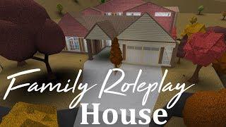 Roblox Bloxburg | Family Roleplay Home Speedbuild (234k)