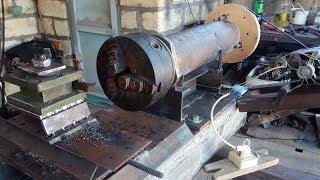 Как сделать токарный станок по металлу своими руками