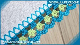 Aprenda um Bico de Crochê Simples e Rápido