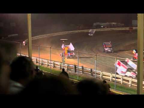 EWSC Racing MSA Sprint Car Feature 8/17/2012