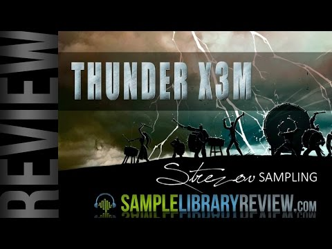 Review Thunder X3M Epic Percussion from Strezov Sampling - Thunder Extreme