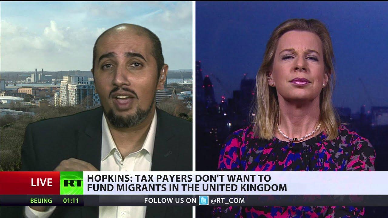 Immigration, deaths & rapes: Katie Hopkins vs Mo Ansar - YouTube