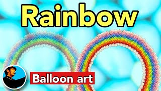 This color scheme is the secondary rainbow and the primary rainbow is the opposite. ◎【Balloonart 20】How to make a original flower joint バルーンアートの作り方 ...