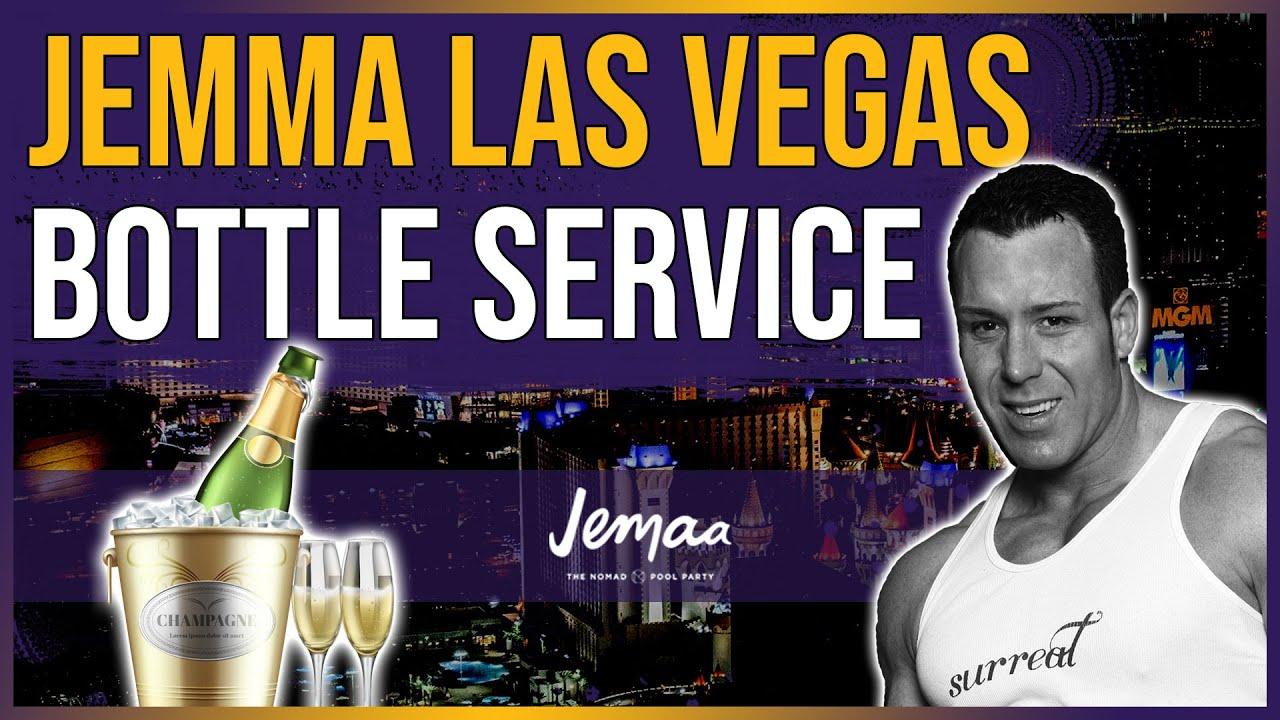 Jemaa Las Vegas Bottle Service W Surreal Nightlife Youtube