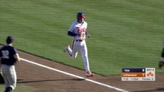 clemson-baseball-yale-game-highlights-3-15-17