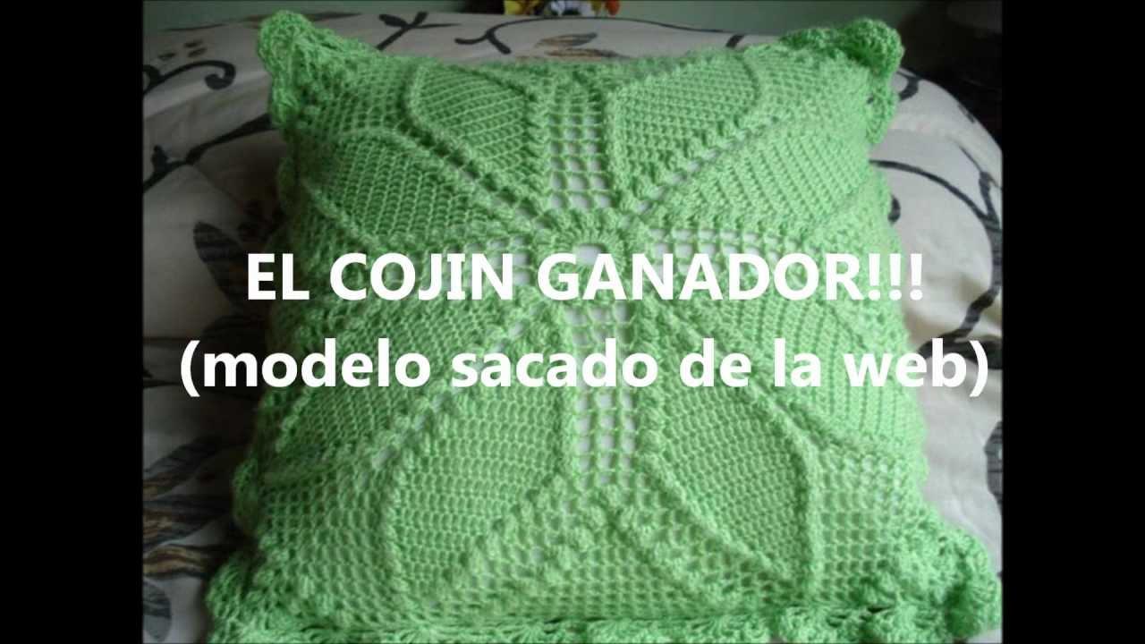Primer reto del grupo cojines web creadores de redes - Cojin de crochet ...