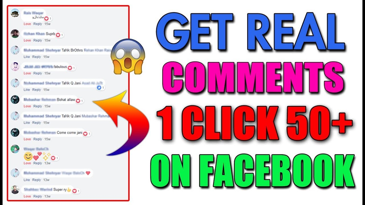 How to increase Facebook auto Comments 2018 || Facebook Auto Comments 2018  || Get Free fb Comments