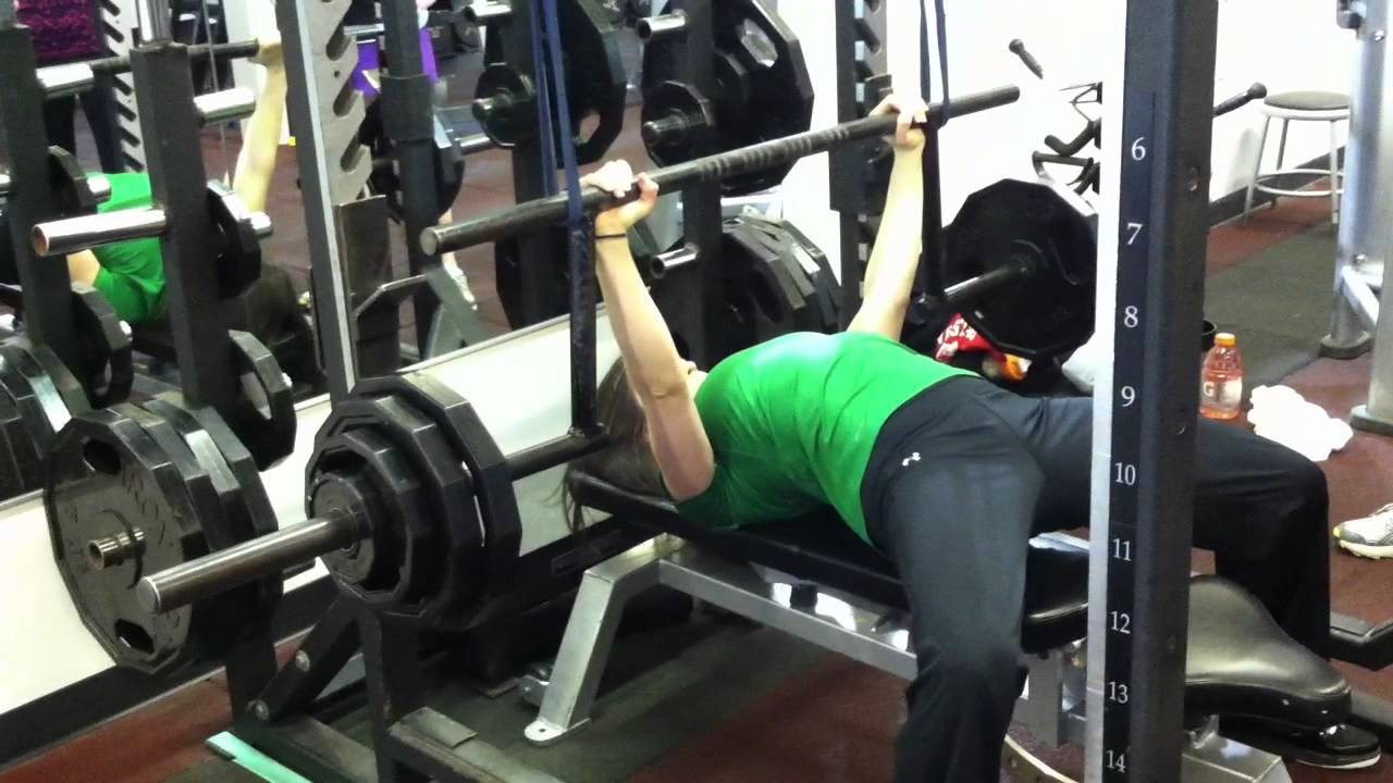 Future Method Bench Press With Giant Cambered Bar Youtube