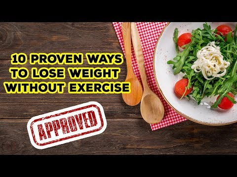 "10 Proven Ways to Lose Weight Without Exercise || ""Ways4LoseWeight"""