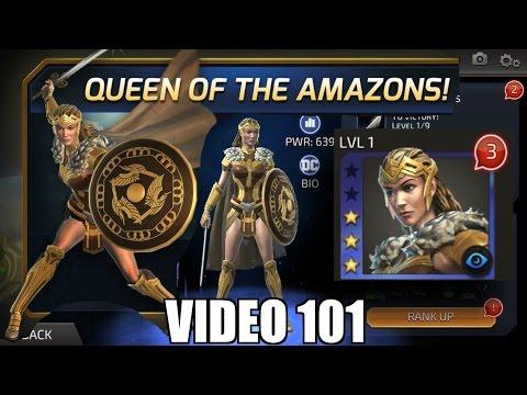 DC Legends Game Video 101 = Unlock Hippolyta