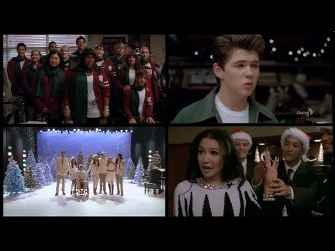 Best Glee Christmas Songs (All Seasons)
