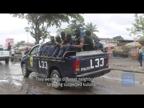 Police Execute Young Men in Congo