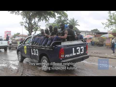 Police Execute Young Men in Congo