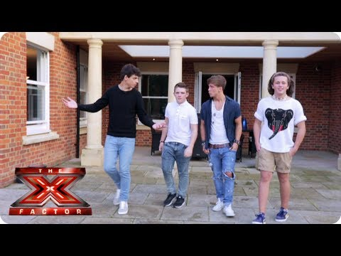 X Factor Judges 2013 The Boys explore The X...