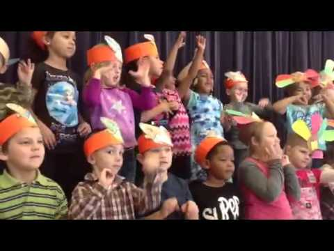 Thanksgiving Day Program at Tye River Elementary School