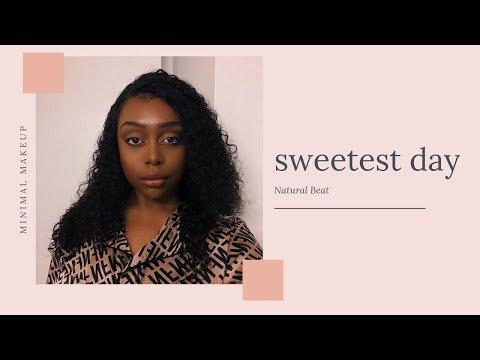 GRWM | Basic Baddie Natural Makeup Look | Gloria Ann thumbnail
